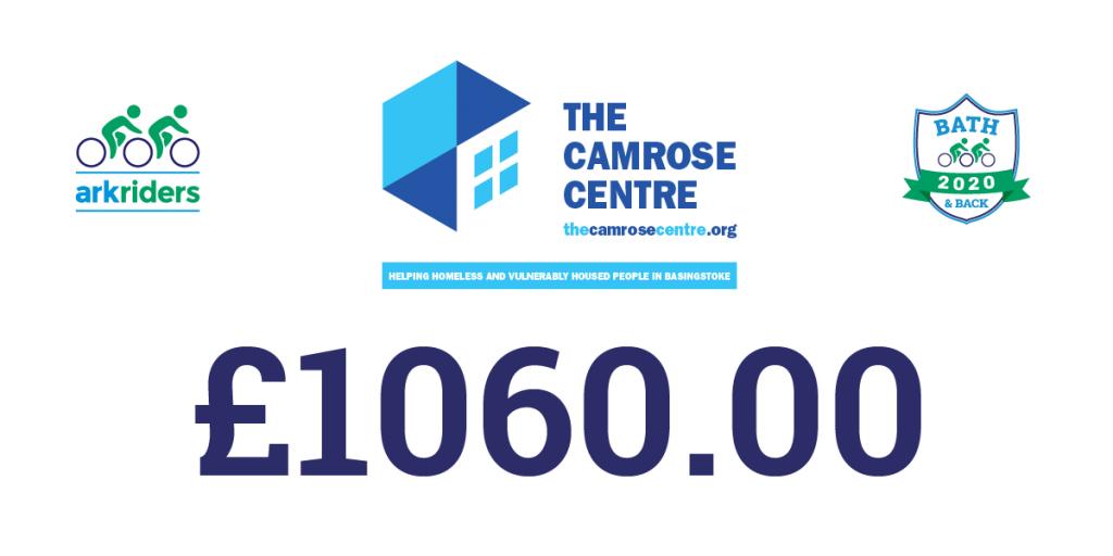 donation to The Camrose Centre Basingstoke